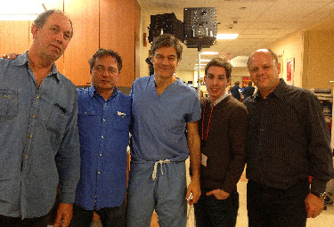 AVP Productions Dr. Oz Shoot