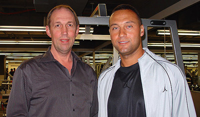 Jim Anderson and Derek Jeter
